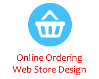 Ecomm Online Ordering Web Store Design